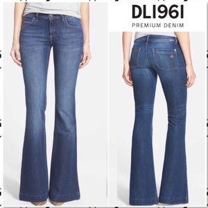 DL1961 Melissa Wide Leg Jeans Sz 24 Inseam 33